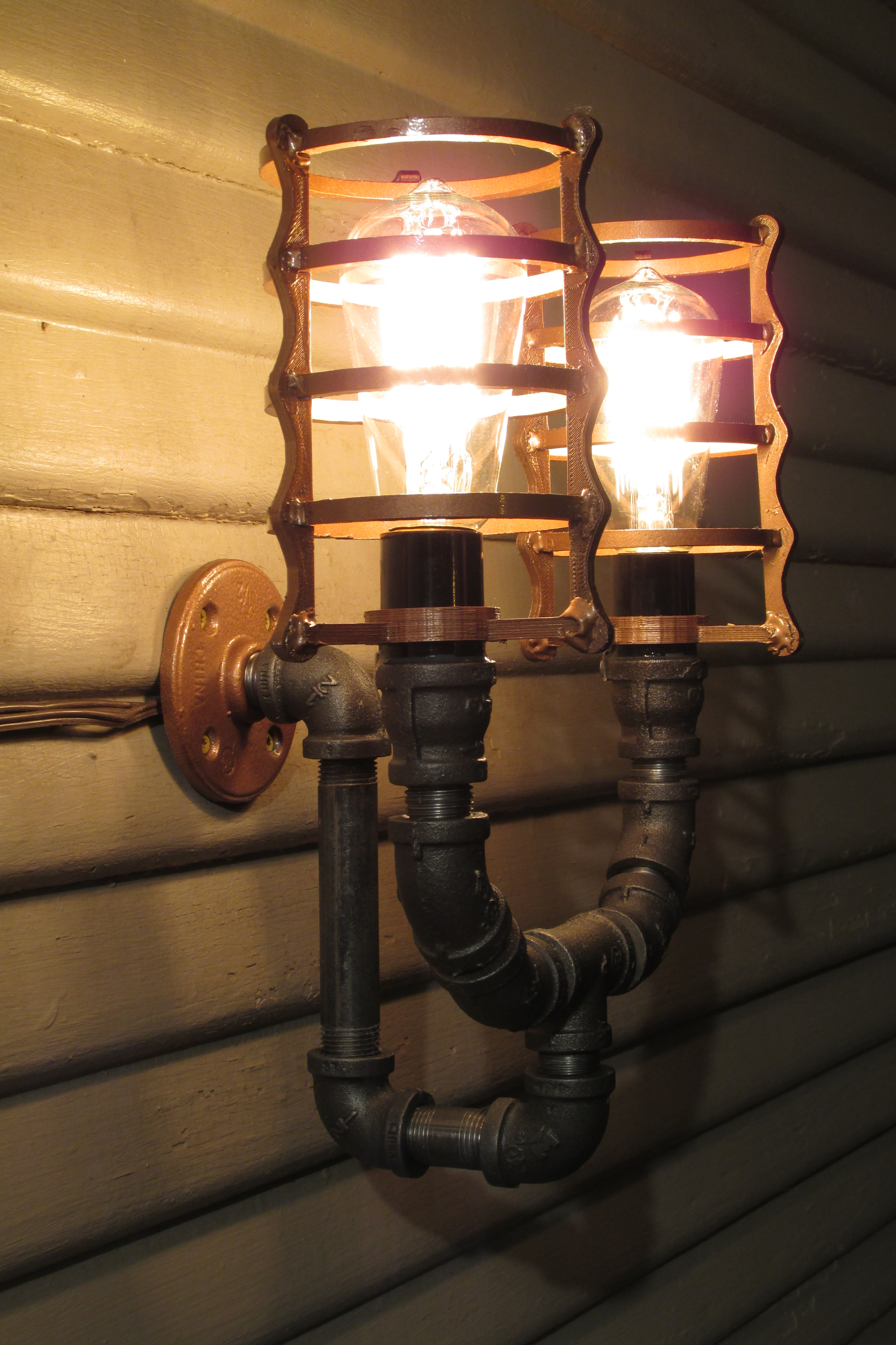 Picture of Steampunk Porch Light