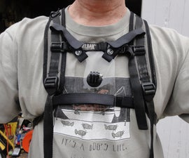 GoPro Camera Chest Mount for Camelbak