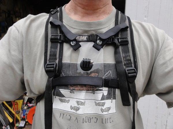 GoPro Camera Chest Mount for Camelbak