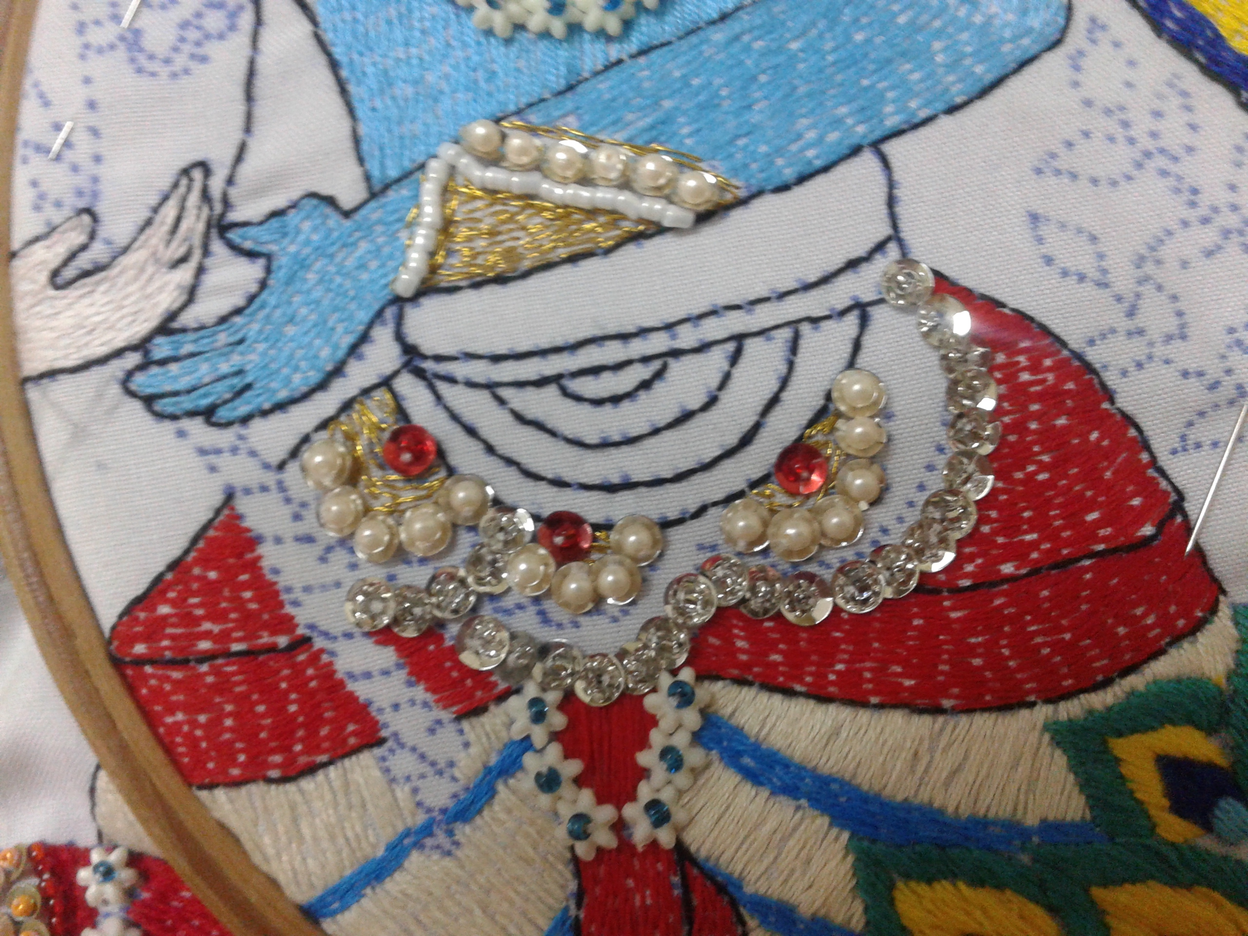 Picture of Beading Embroidery,