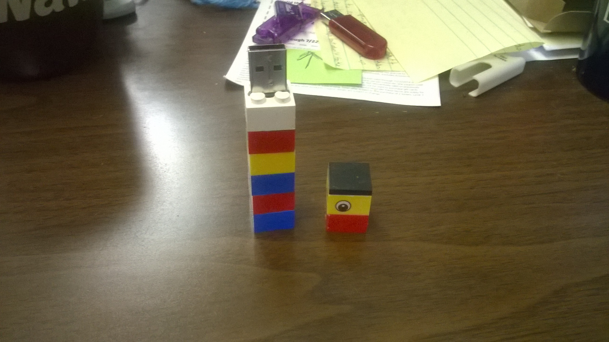Picture of LEGO USB Case
