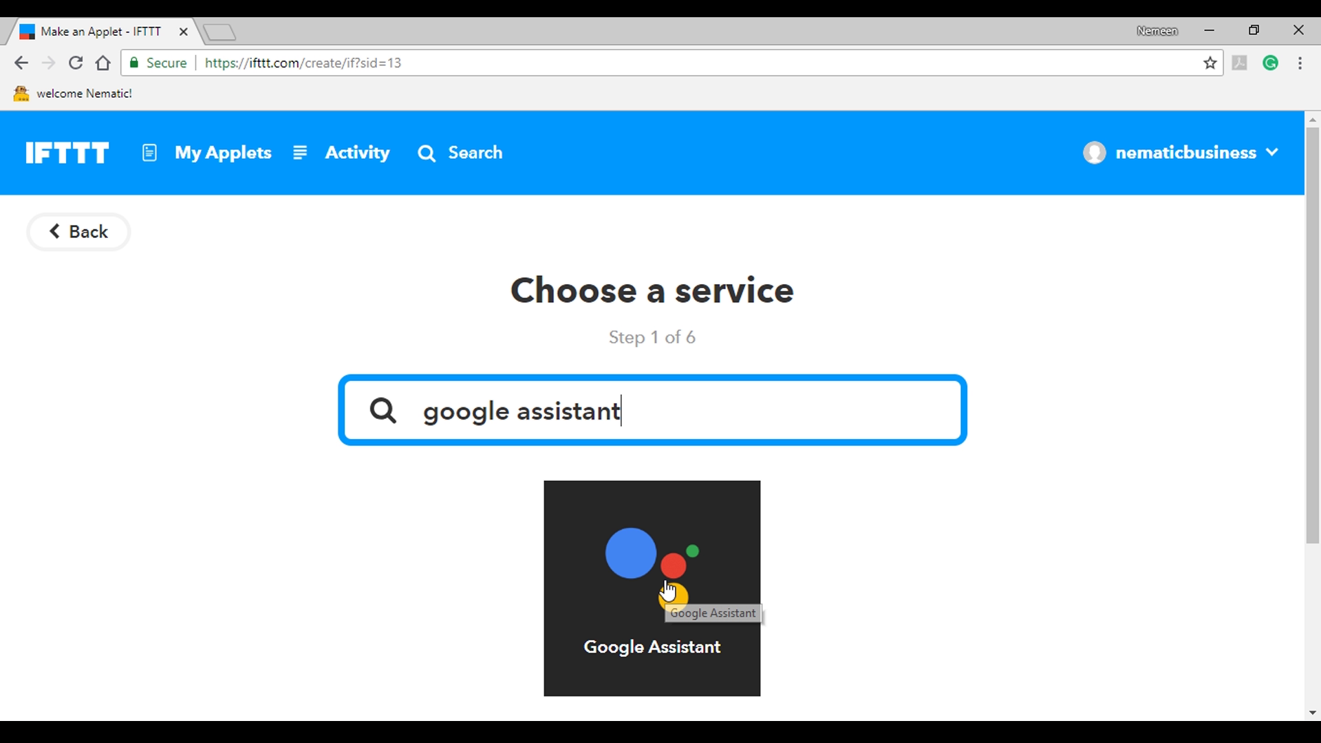 Picture of Google Assistant Setup