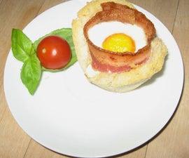 mmmm Bacon cup cake,s