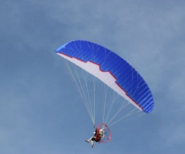 Flying a Powered Paraglider