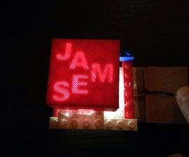 Secret Message Light Box