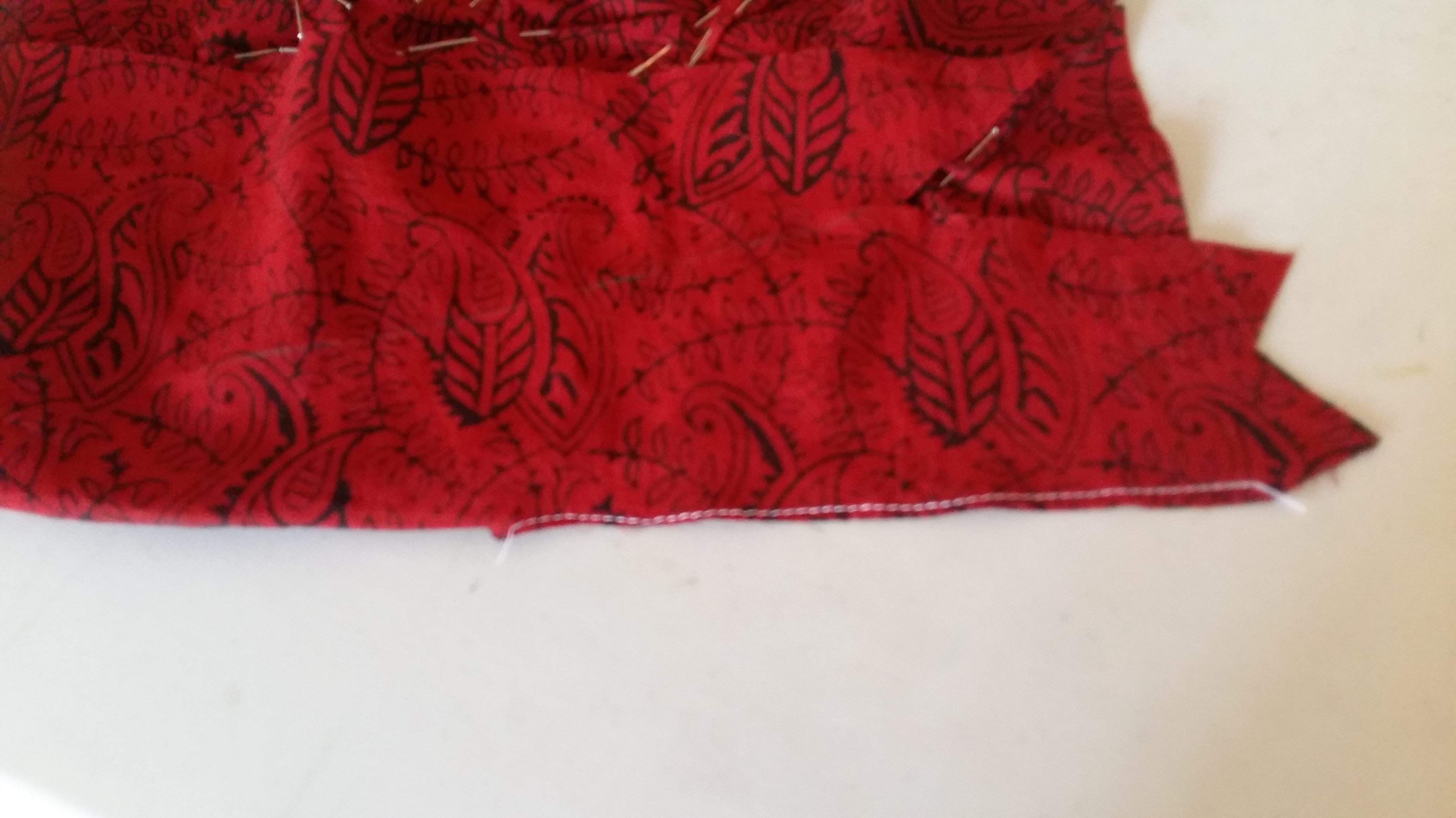 Picture of Sewing of the Sleeve