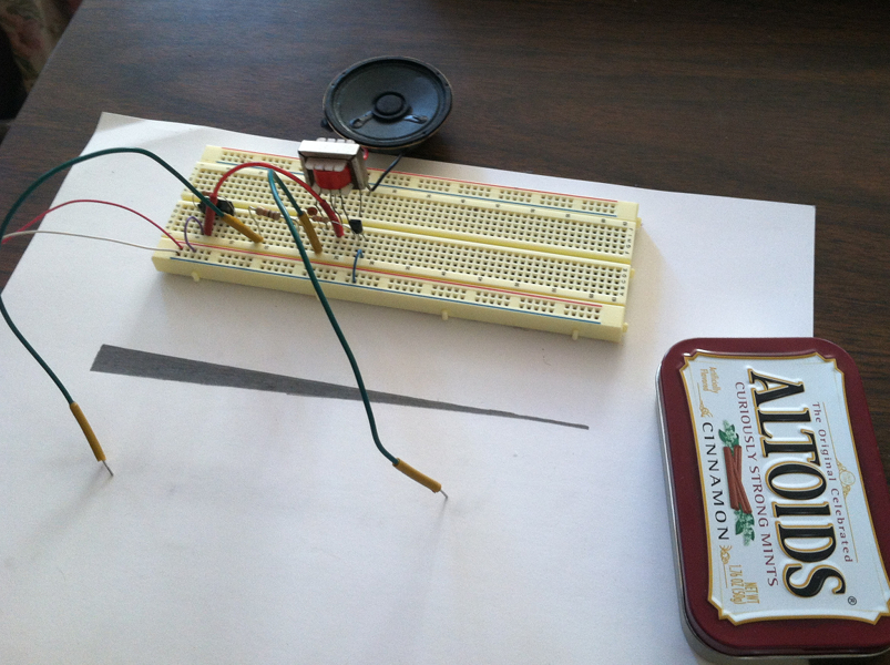 Picture of Draw Minty Electronic Music