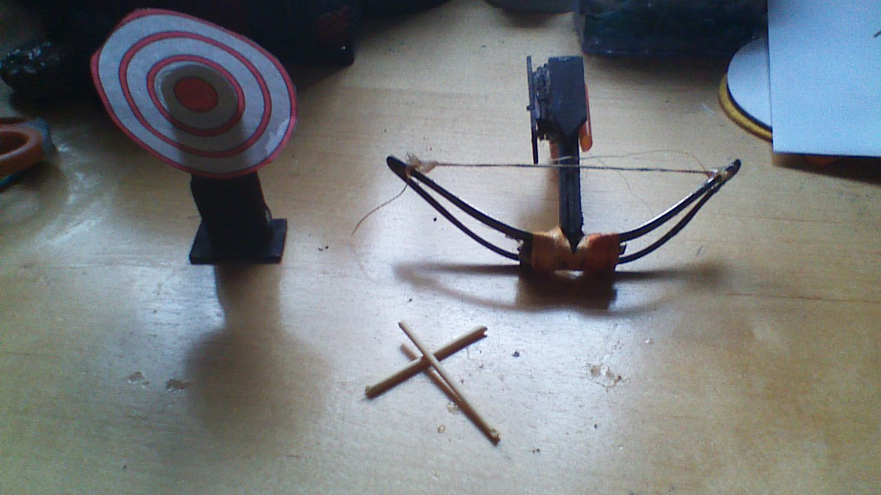 Picture of Mini Craft Stick Crossbow