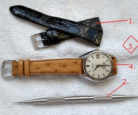 How to Replace a Watch Strap