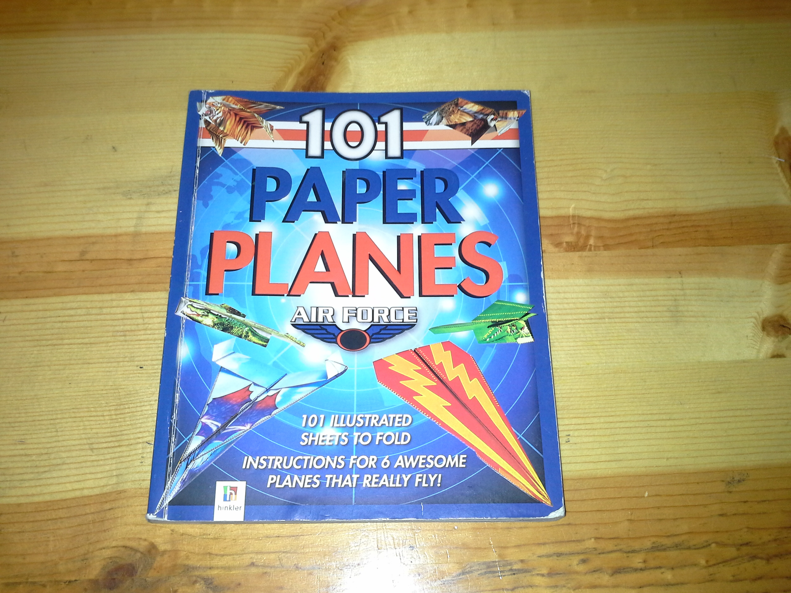 Picture of The Afterburner Paper Plane