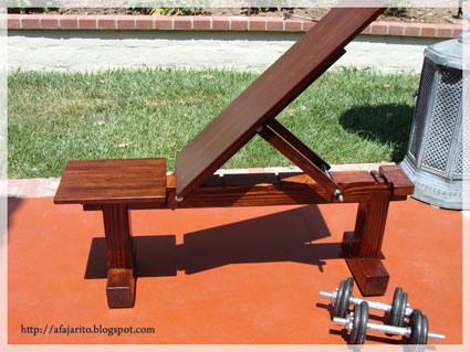 Picture of Finished Weight Bench Pictures