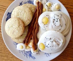 Bacon & Eggs (Bacon Bourbon Cookies)