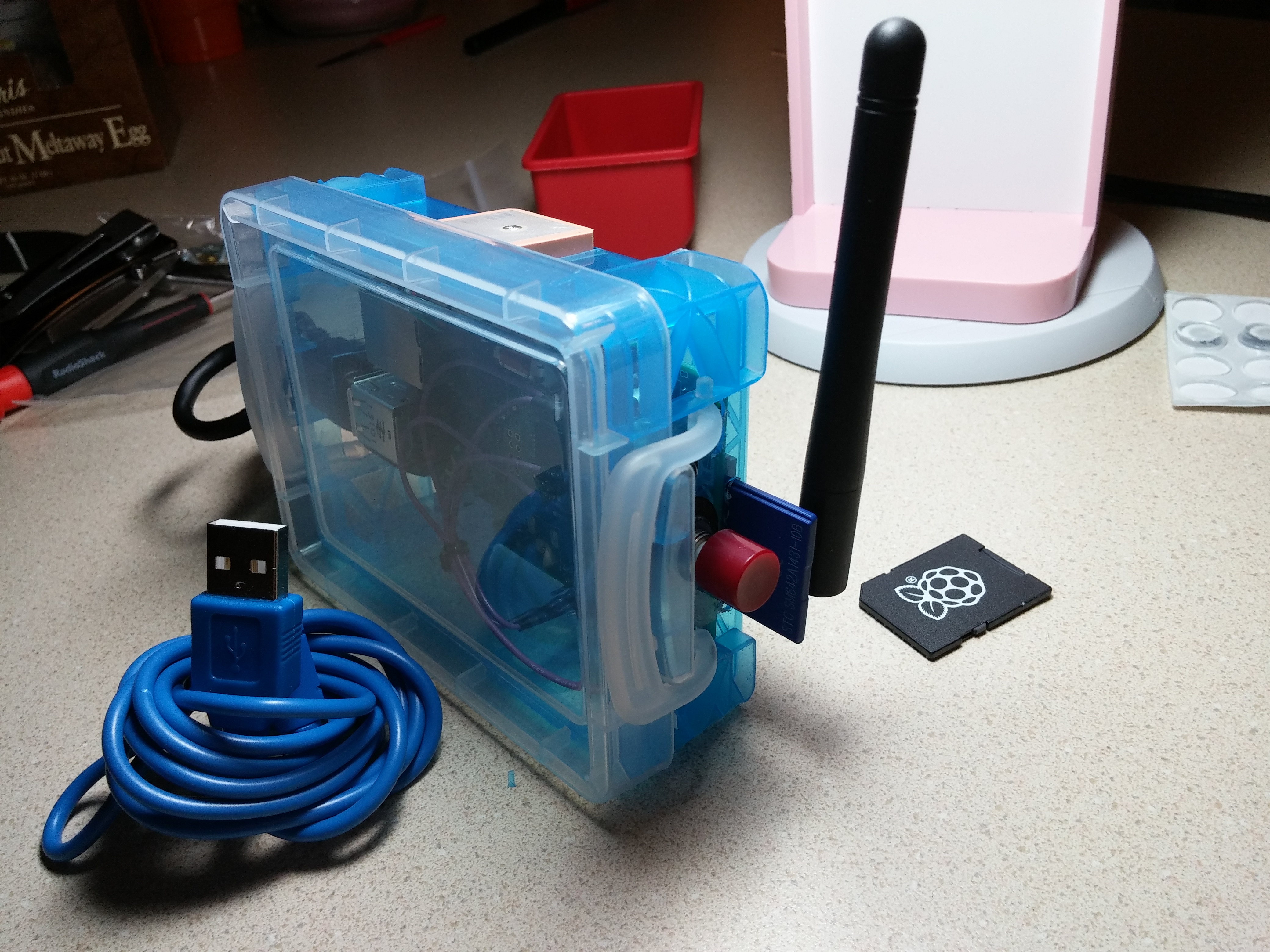 Picture of The 802.11 Ninja - Portable 802.11 Hacking Device
