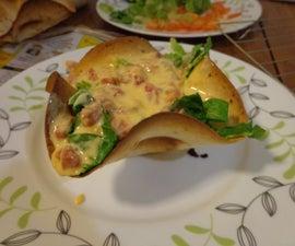 Easy Baked Taco Salad Shells