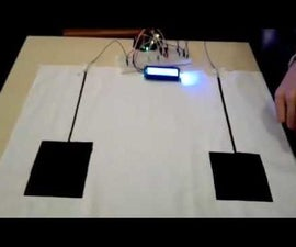 Interactive mat with conductive paint TfCD