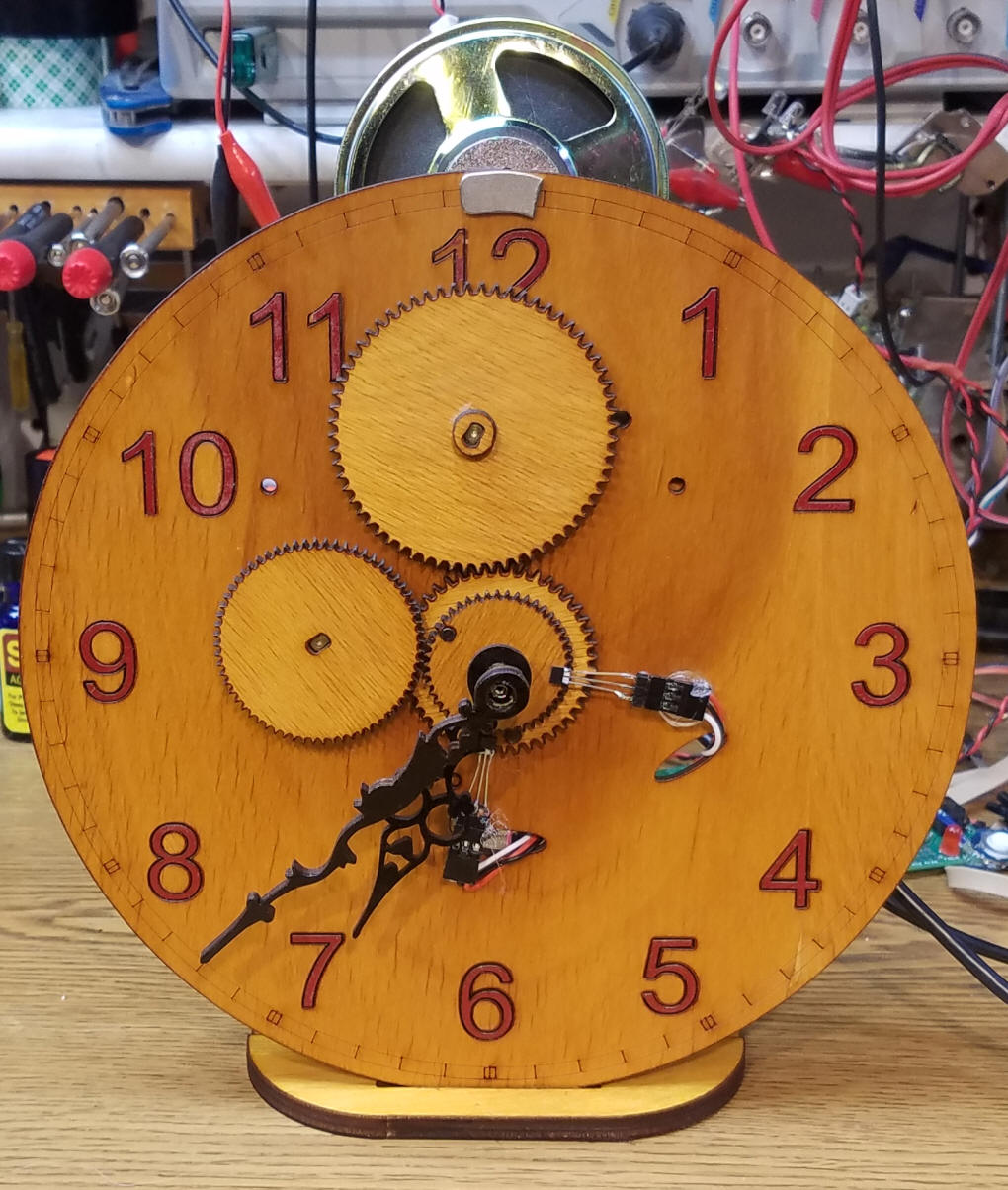 Picture of Arduino WiFi Set Clock With Analog Hands