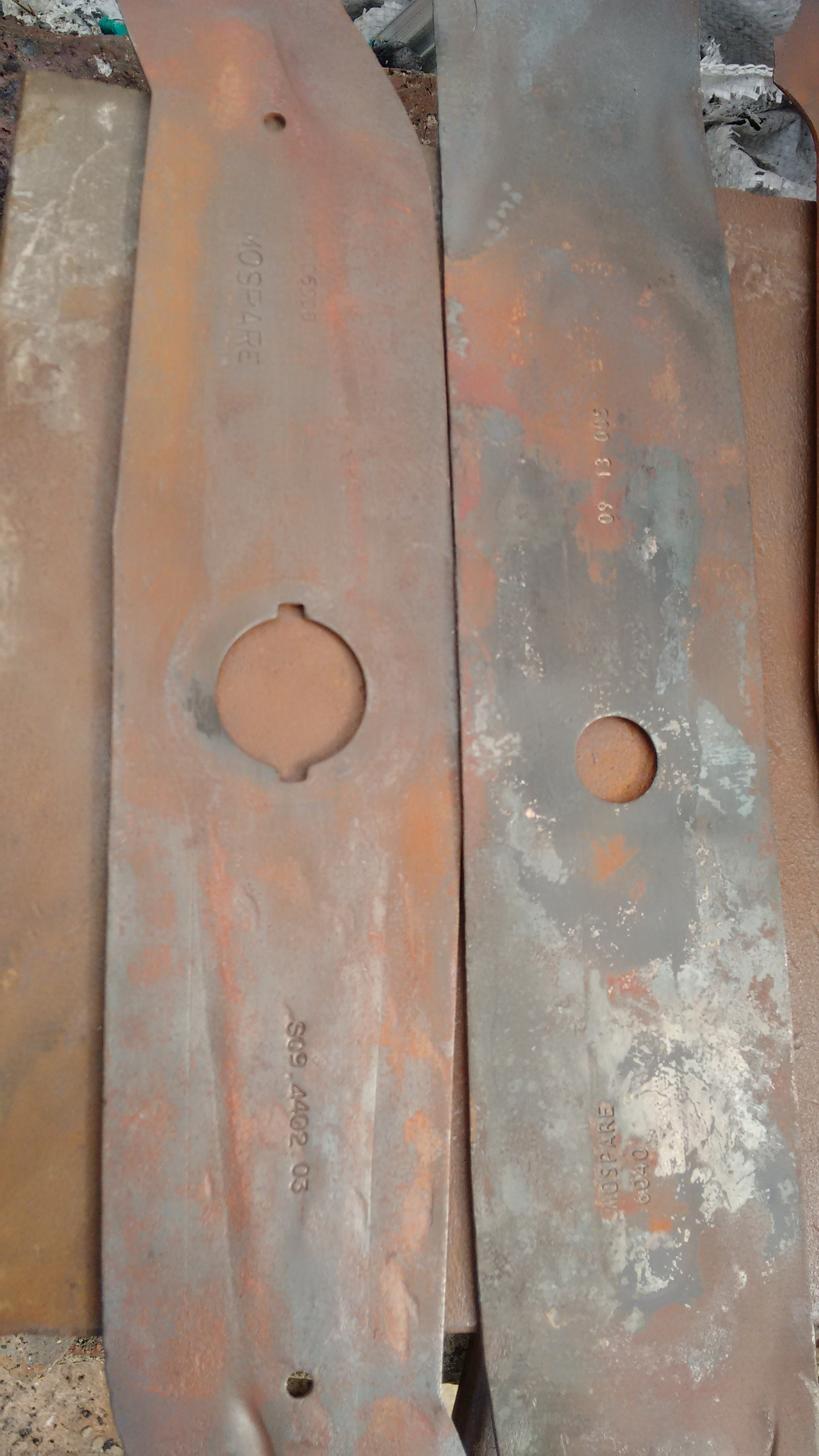 Picture of Lawn Mower Blade Preparation