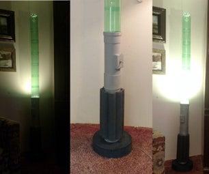 Giant Lightsaber Floor Lamp