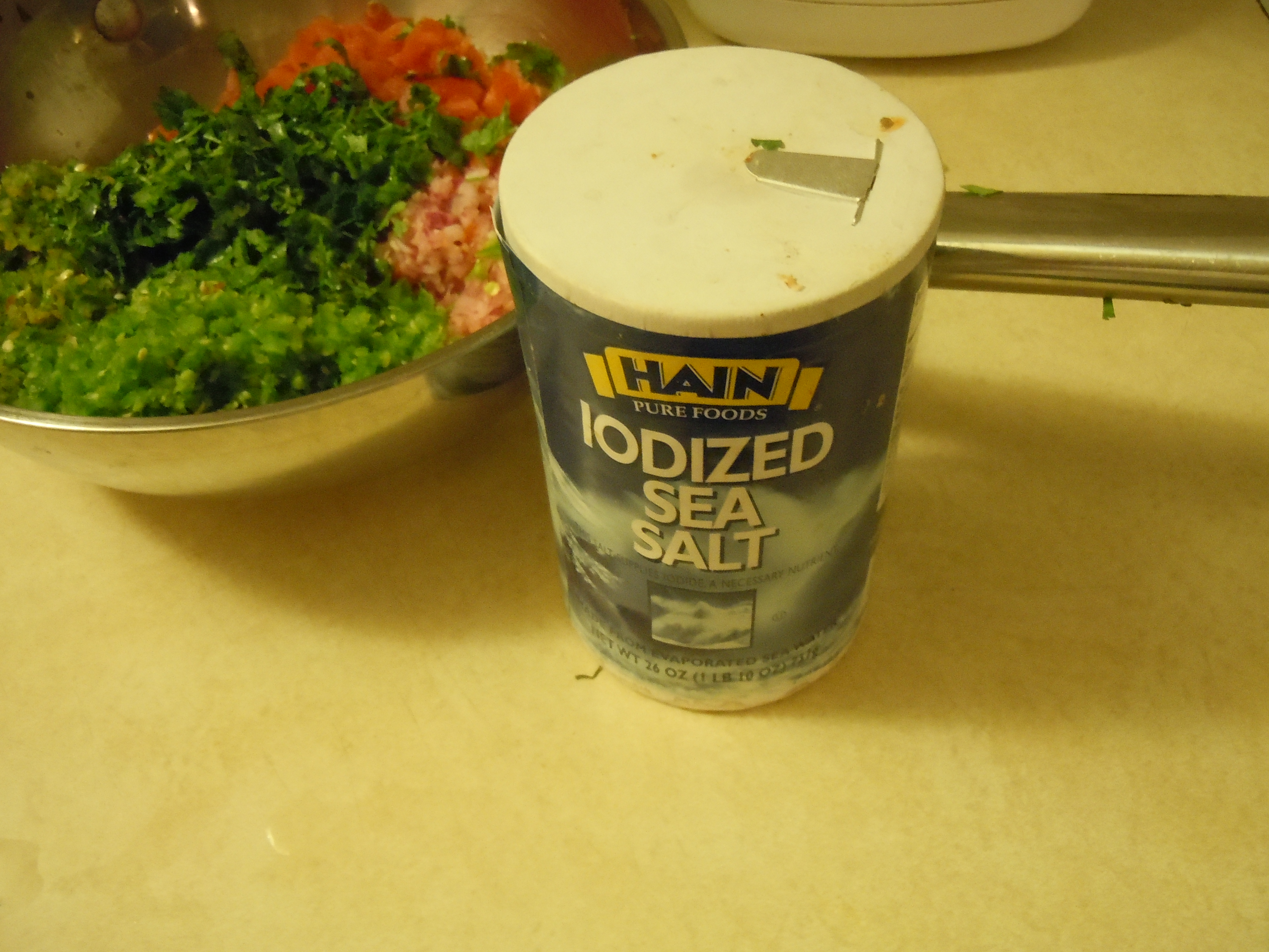 Picture of Add Salt and Mix