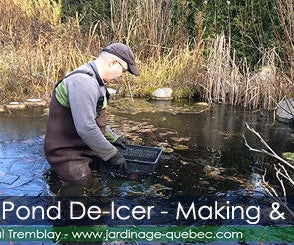 Pond Heater & De-Icer - Overwintering Fish Pond
