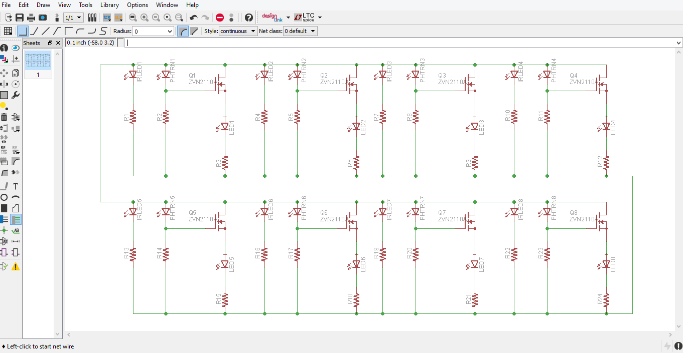 Picture of Schematic Layout- Putting It All Together