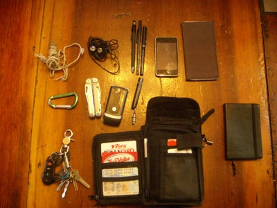 What I Carry Now