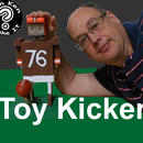 Wooden Football Placekicker Toy