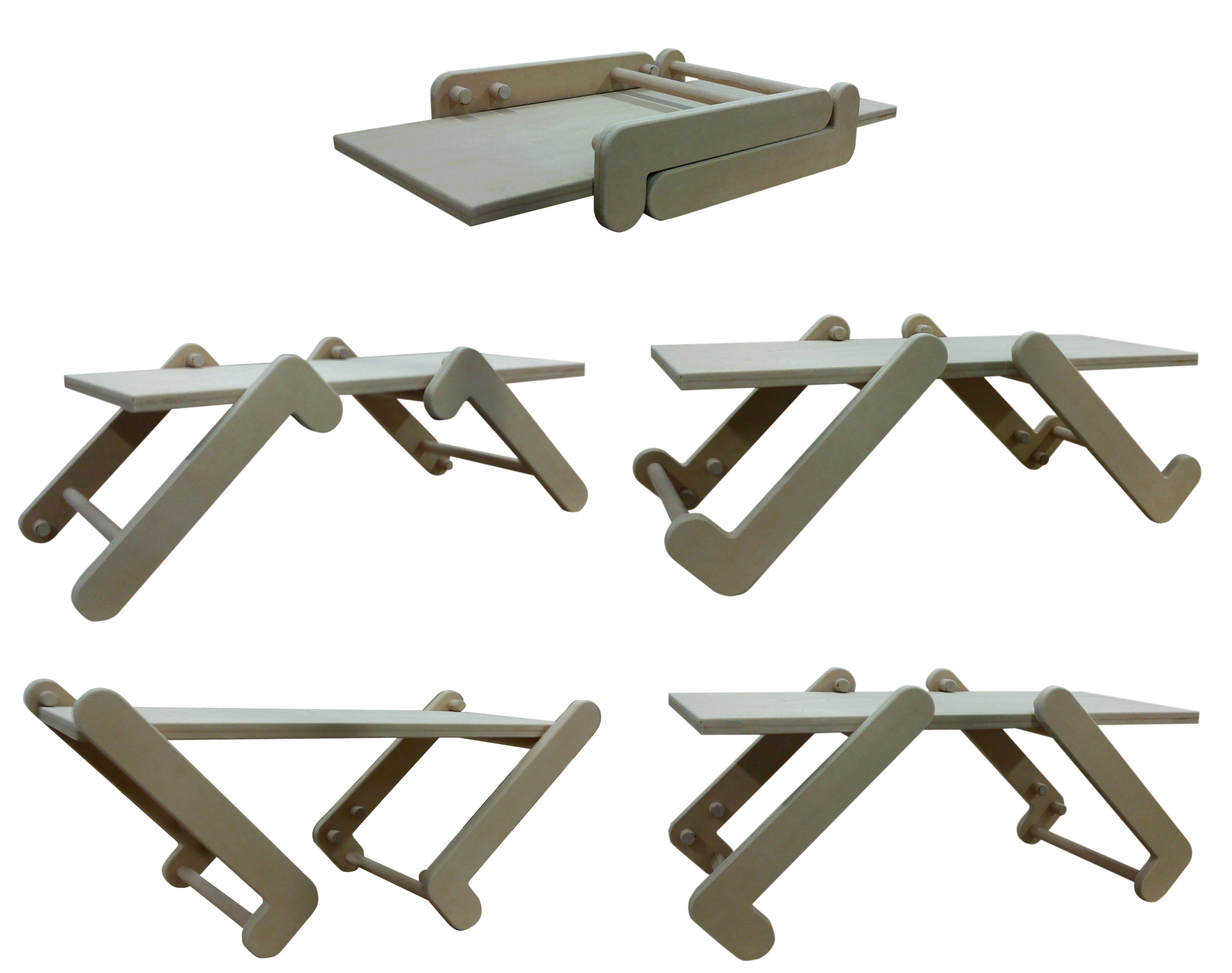 Picture of Assemble the Table and Try Some Configurations!