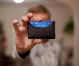 Simple & Slim Leather Wallet in 3 hours