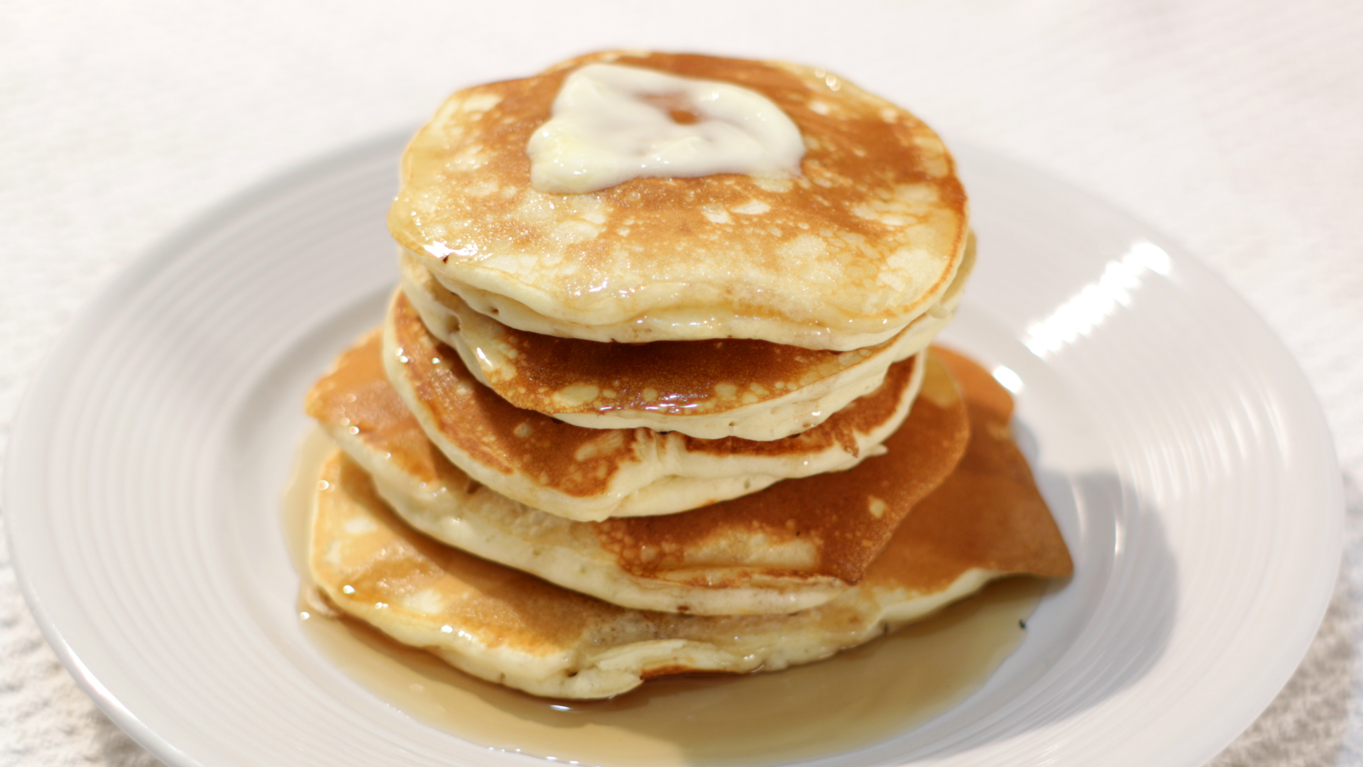 Picture of Easy Thick Fluffy Pancakes
