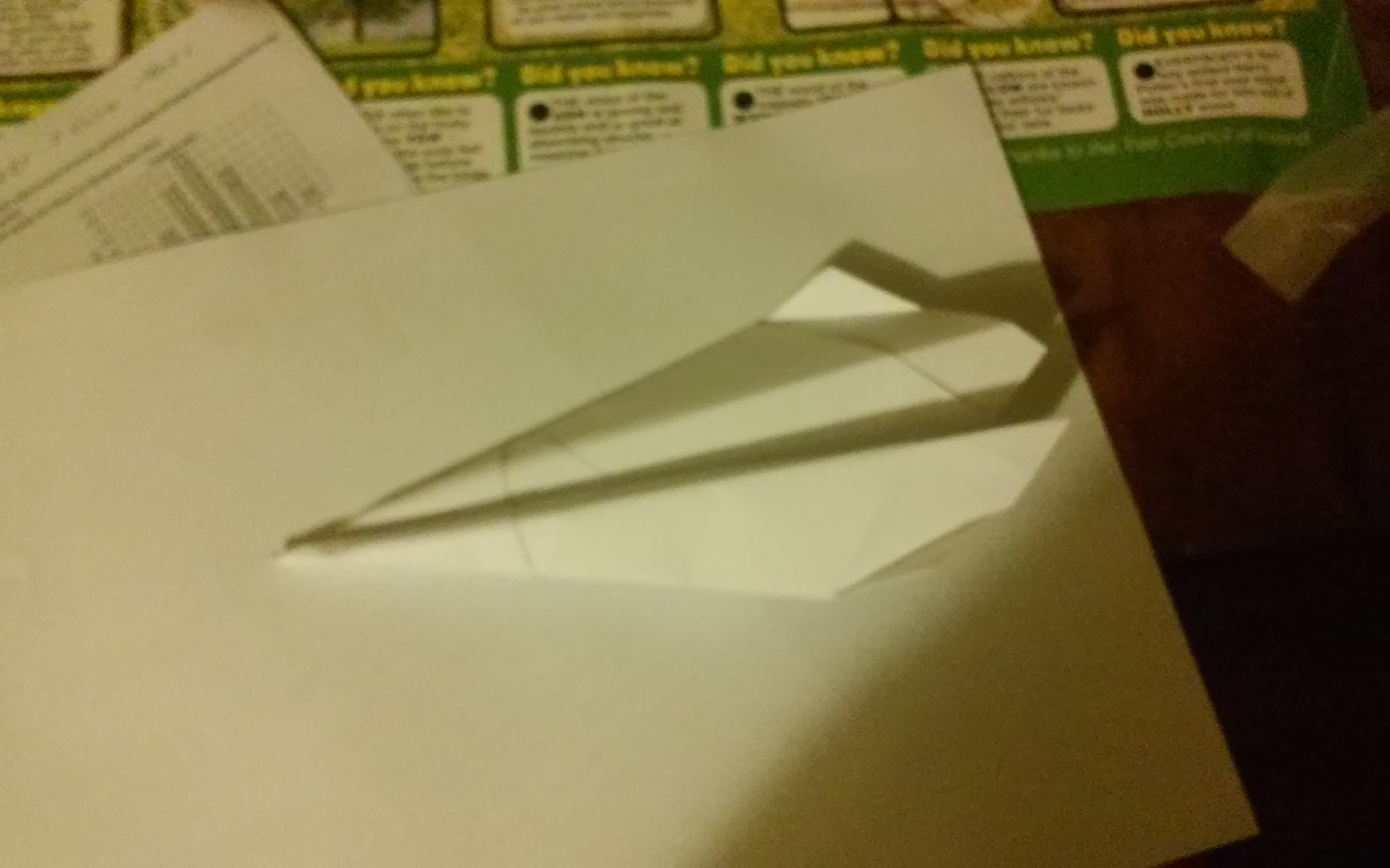Picture of Paper Airplane