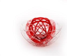 Peony- 3in1 fruit basket & decoration
