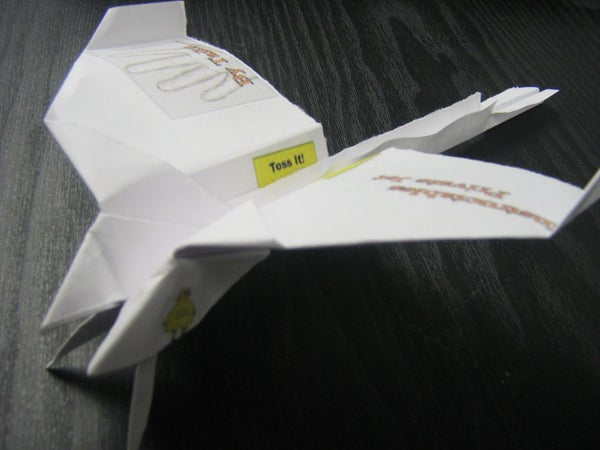 Totally Awesome Paper Airplane