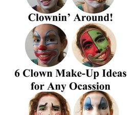 6 Clown Make-Up Ideas