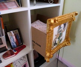Cardboard Box Storage Frame