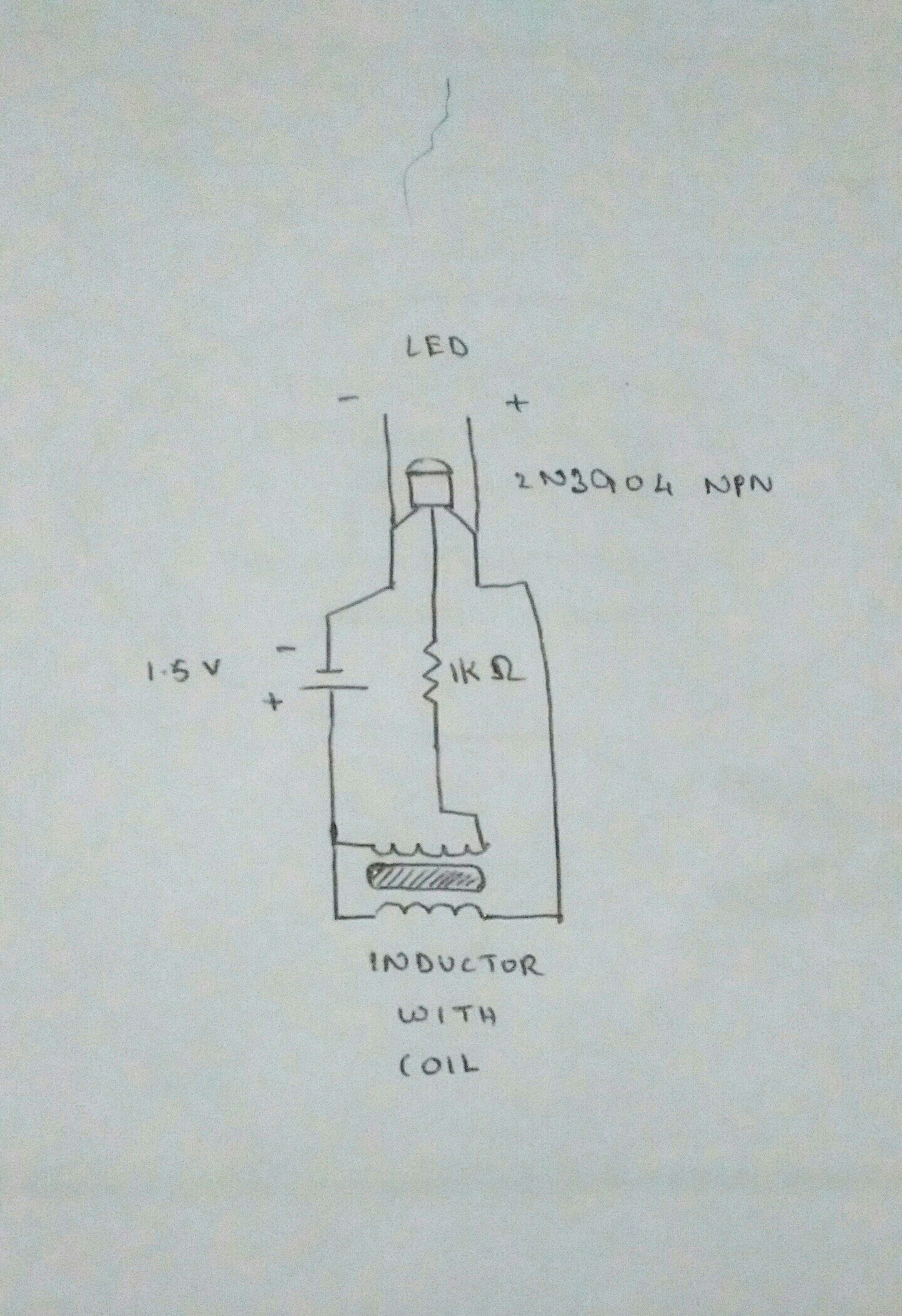 Picture of Efficient Joule Thief Power Supply