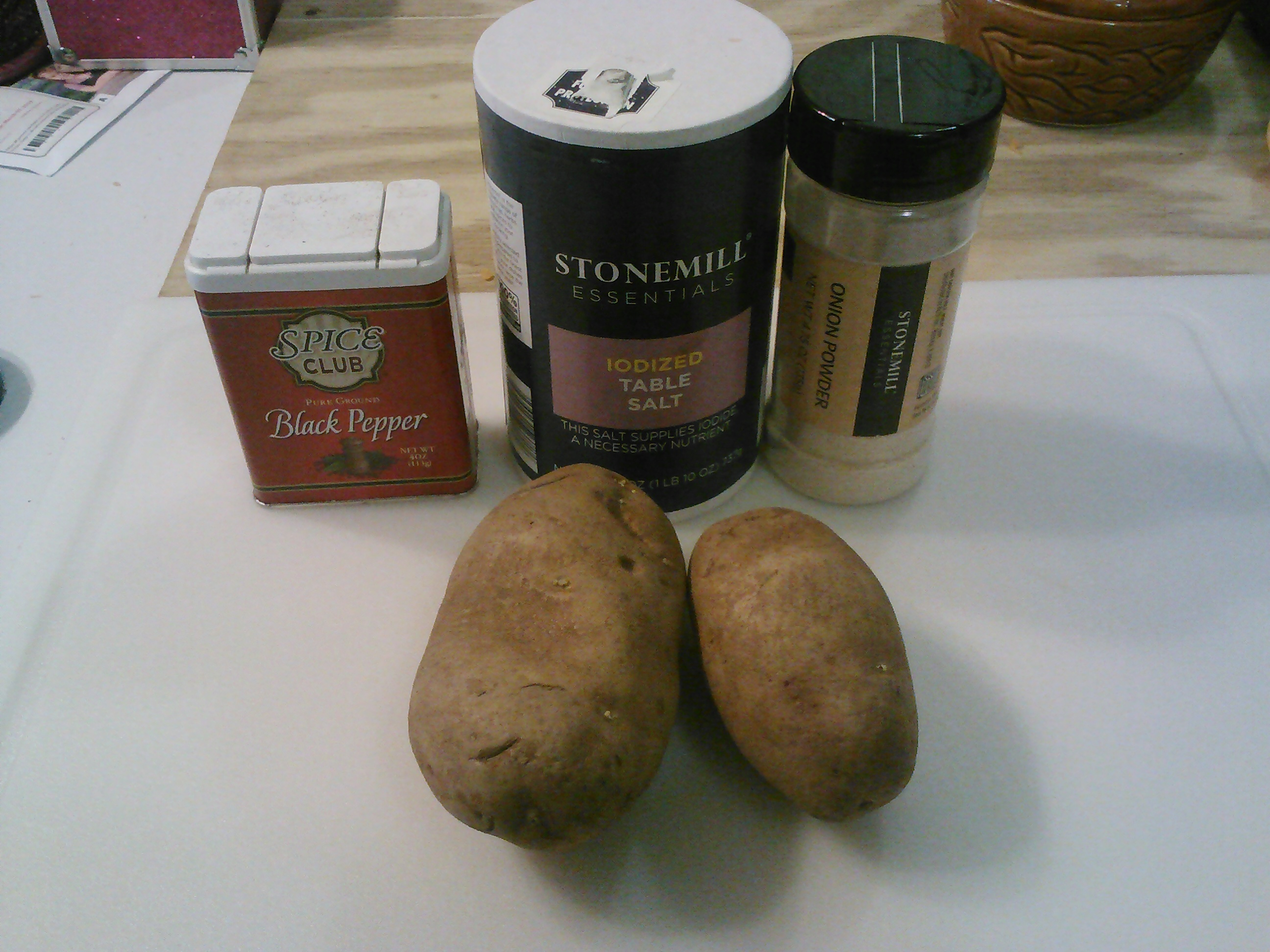 Picture of Ingredients.
