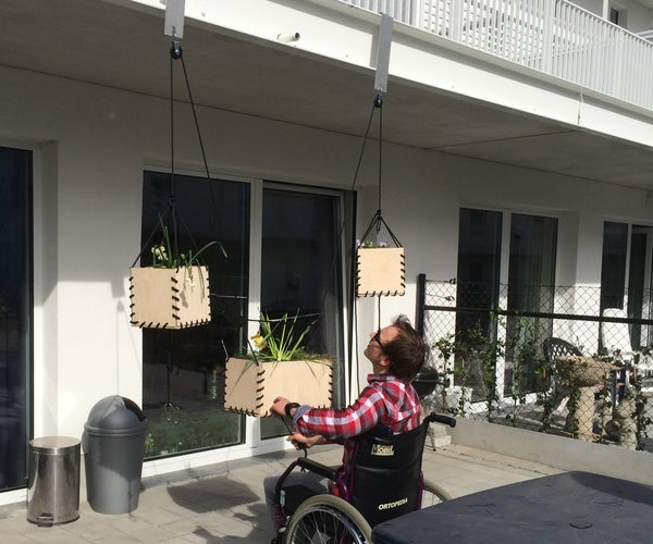 Liftable Hanging Planters