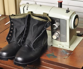 Customized Jungle Boots
