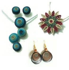 Quilled Jewelry to Match Your Mood!
