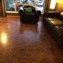 Kraft Paper Floor