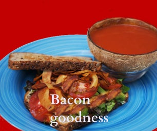 Coconut Bacon BLT and Coconut Uses
