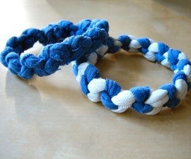 How to Make T-shirt Bracelets