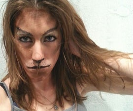 I'm a kitty cat. EASY Makeup transformation!