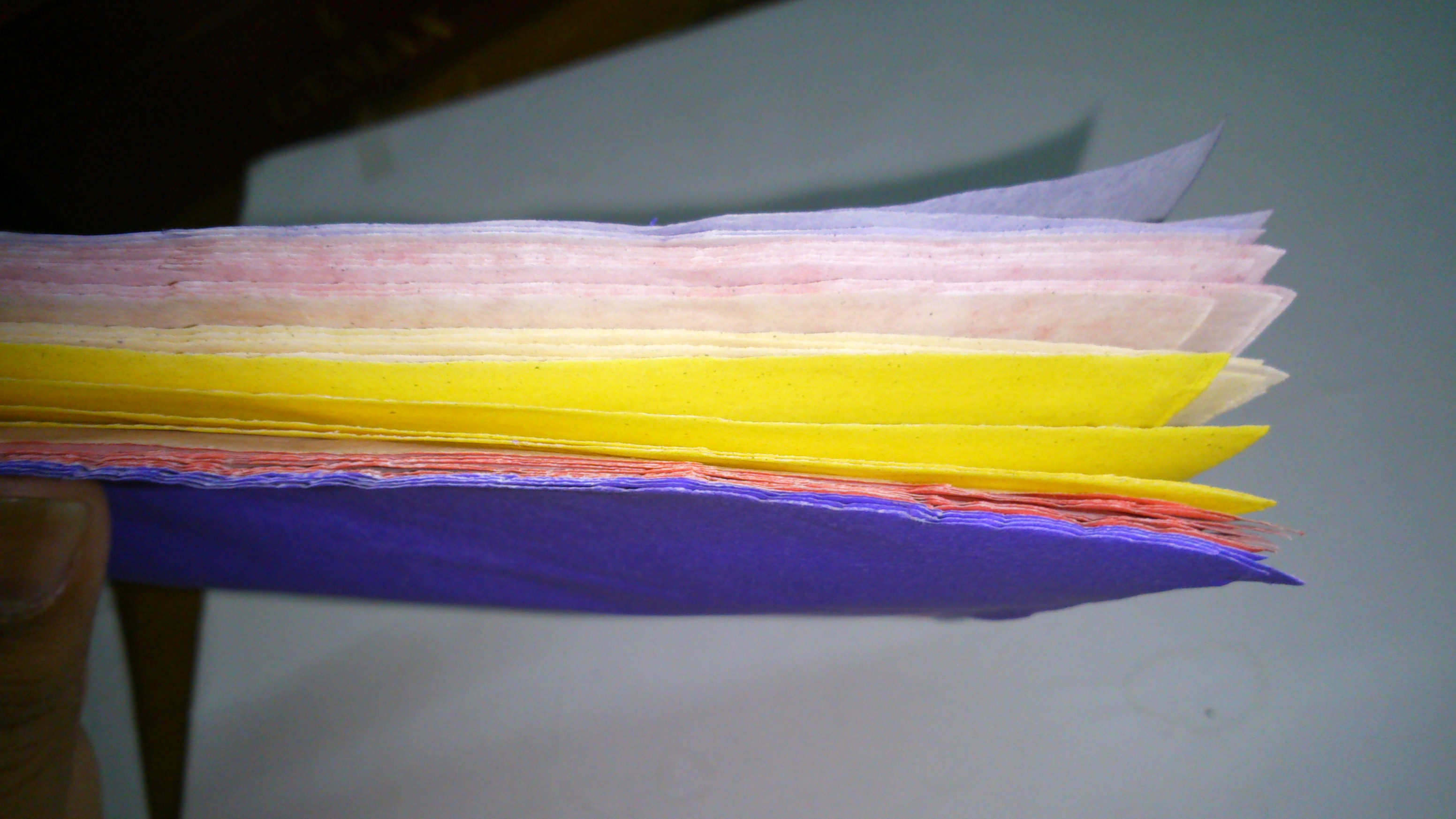 Picture of 9.Now Make the Third Notebook With Multiple Colourful Pages and Using Duct Tape of 2 Different Color