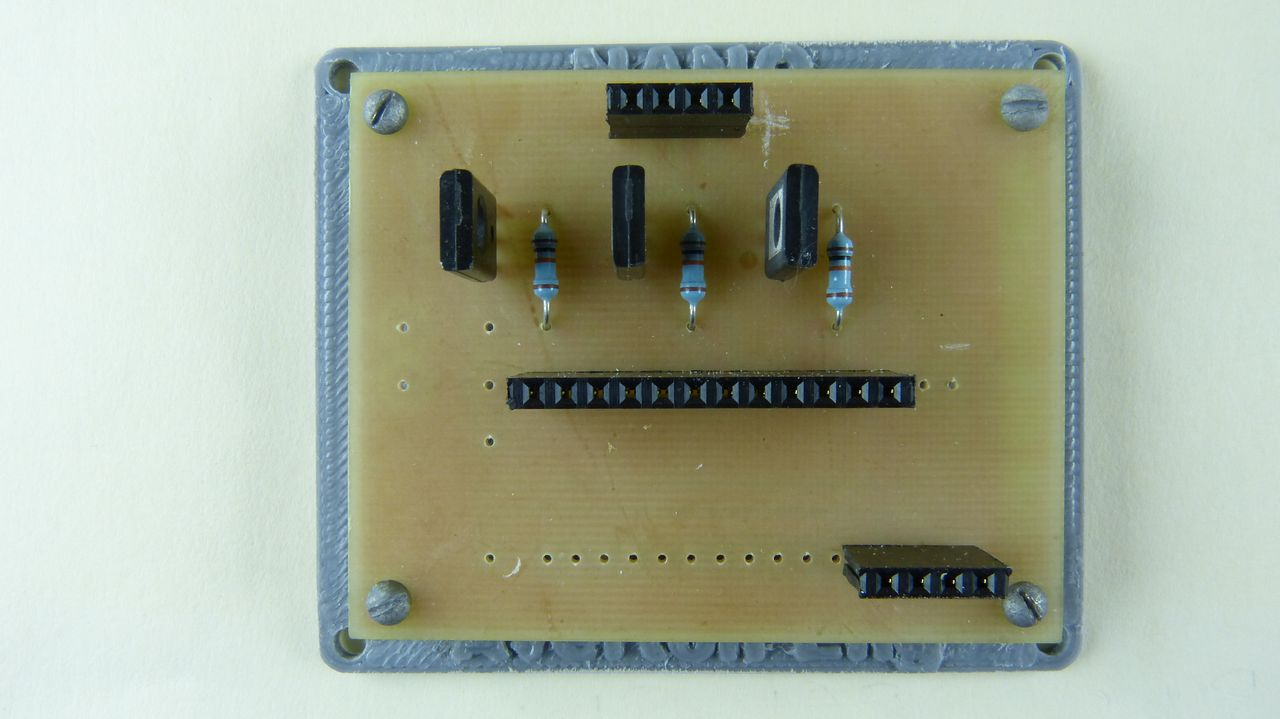Picture of Mount the PCB Onto Plastic Stand-off Mount