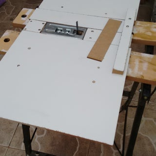 Another Kind of Jigsaw Table