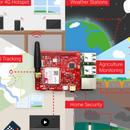 IOT BIT GSM V1.5 Hat for the Raspberry Pi