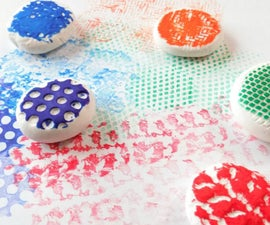 Model Magic Texture Stamps
