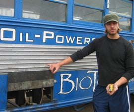 Waste Vegetable Oil Conversion for Diesel Bus